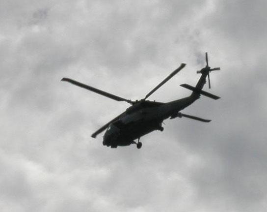 SH-60J対潜哨戒ヘリ